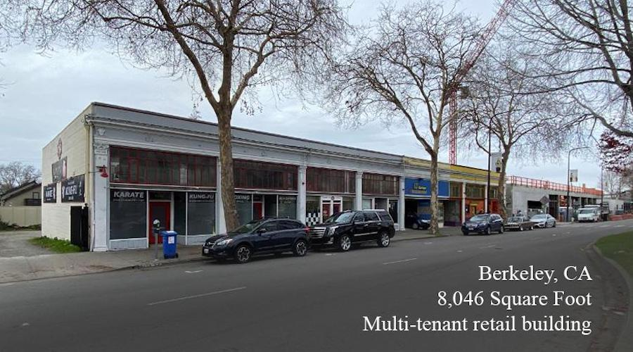 Berkely California recently funded commercial real estate loans example